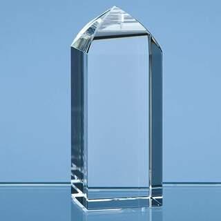10cm Optical Crystal Mini Tower Rectangle